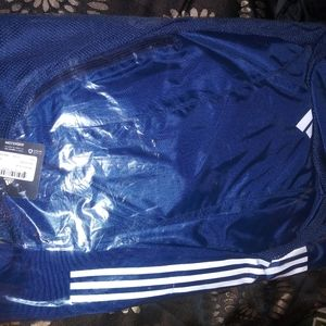 Navy adidas team mesh bag